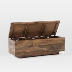 Emmerson® Reclaimed Wood Storage Bench