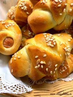 Císařské párečky v těstě – Vůně chleba Hamburger, Bread, Food, Brot, Essen, Baking, Burgers, Meals, Breads