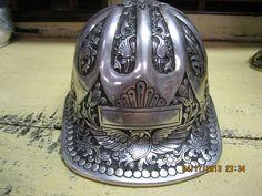 VTG McDonald Aluminum Hard Hat, Engraved.