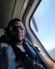 Pegar trânsito pra que se eu posso ir trabalhar de helicóptero  #offshorelife ##letsgo by marlon.rodd