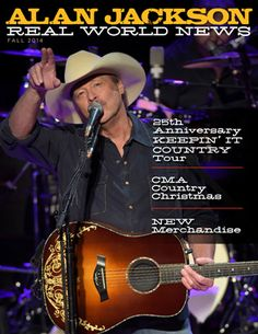 Alan Jackson :: Download Official Alan Jackson Newsletters