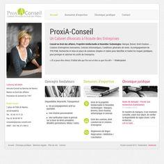 Nouveau site web du cabinet d'avocats à #nantes www.proxia-conseil.com