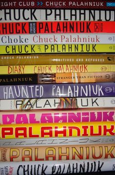 Chuck Palahniuk Novels