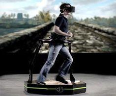 Virtual Reality Gaming Treadmill