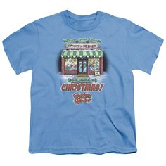 GRANDMA GOT RUN OVER BY A REINDEER THINK CHRISTMAS Youth Short Sleeve T-Shirt