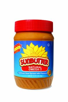 SunButter Natural Omega-3 Sunflower Seed Spread, 16-Ounce Plastic Jars (Pack of 3) $17.58