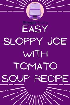 Homemade Sloppy Joes, Sloppy Joes Recipe, Can Of Soup, Rock You Baby, Adoption Stories, Tomato Soup Recipes, Eating Vegetables, Adoption Process, Reference Letter