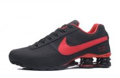 Durable Modeling Nike Shox Deliver Black Red Shox Nz Men s Athletic Running  Shoes 8d292e27b