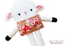 Lamb Sewing Pattern  Toy Doll Softie Sewing by GandGPatterns, $10.00