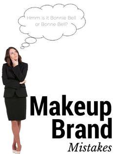 Makeup Brand Mistakes