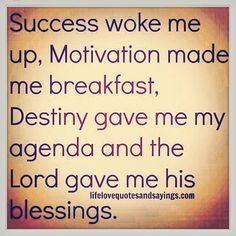 && I won't stop till I get there... Thank u Lord for your continued blessings❤