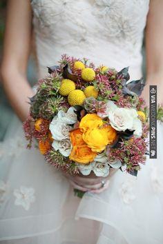 yellow bouquet | VIA #WEDDINGPINS.NET