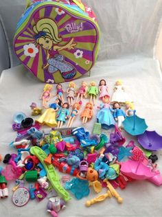 Lot Mix Doll Clothing Polly Pocket With bag #DollswithClothingAccessories
