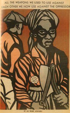 Black Panther: The revolutionary art of Emory Douglas | Dangerous Minds
