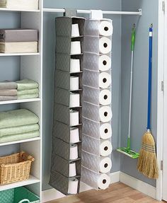 Wonderful Store Bulk Items Such As Paper Towels, Toilet Paper, Or Shoes In This  Oversized Quilted Hanging Storage Unit.