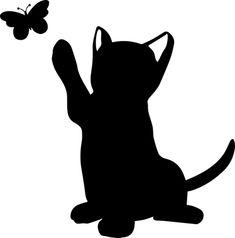 черный кот картинки на стену какой