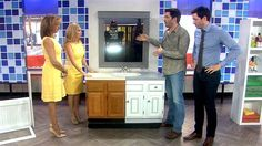 The Property Brothers stuck around on Thursday to share DIY ways to update one of the most common home renovation projects: the bathroom....