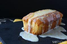Copycat Starbucks lemon loaf  1 box yellow cake mix 1 (5.1) ounce instant vanilla pudding mix 2 lemons, zested 1/2 cup vegetable oil 4 large eggs 8 ounces sour cream 1/3 cup fresh lemon juice For glaze 1-1/2 cups powdered sugar 3 tablespoons fresh lemon juice 1 lemon, zested
