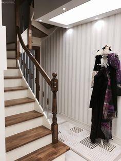 Duvar kağıdı, Merdiven