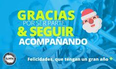 Queremos desearles a todos muchas felicidades en estas fiestas !!