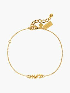 Kate Spade Mrs. Bracelet. So cute to give the bride, and it's only $48.00