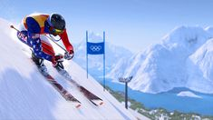 Olympic downhill skiing - the pursuit of excellence