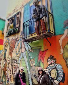 Enquanto não começa a próxima viagem vamos com as fotos das antigas mesmo. Caminito Buenos Aires Argentina. Viagens para recordar. Um lugar pra voltar. #art #arte #grafite #graphite #caminito #laboca #baires #buenosaires #argentina #mercosul #americadosul #sudamerica #viagem #férias #trip #travel #ootd #photooftheday #memories