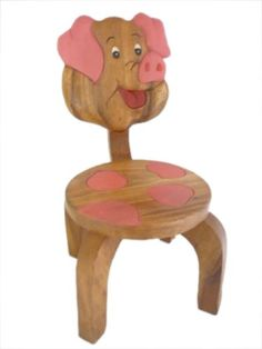 Spring Valley Childrens Pig Chair