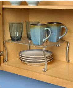 Satin Nickel Somerset Cabinet Shelf