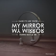 Justin Timberlake - Mirror  Tag/mention your friends :3 #typosonggraphy #typography #song #music #justintimberlake #mirror #adobe