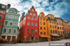 http://www.thaiiairways.com/tuyen-bay/ve-may-bay-di-stockholm.html  Vé máy bay đi Stockholm  Vé máy bay đi Stockholm giá rẻ sẽ đưa chúng ta đến với thành phố đông dân nhất bán đảo Scandinavia, vừa là trung tâm kinh tế, chính trị của Thụy Điển. Với vị trí thuận tiện khi nằm ở phía Đông Thụy Điển, là điểm gặp nhau của hồ Malaren và biển Baltic, bên cạnh quần đảo Stockholm, từ thành phố có thể đi thông thương ở những nơi khác và cũng nhờ vị trí địa lý như vậy làm cho vùng đất này thuộc vùng khí…