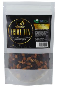 WHY ?  - mixed dried fruits tea   - you can find mixed hibiscus, rose hip peels, apple dices,    candled pineapple pieces, apple pieces, orange peels  - chunky pineapple pieces  - It will bring memories of summertime    any time of the year  - made with the highest quality standards   - FAMOUS COCKTAIL IN YOUR    CUP OF TEA   #tea #icedtea #irish #ireland #tealovers #pinacolada #summer #fitnessmotivation #fitness #healthyfood #cleaneating #fitspo #new #instadaily #instafood #instagram #ex Famous Cocktails, Free Fruit, Apple Roses, Fruit Tea, Pineapple Coconut, Orange Peel, Pina Colada, Tea Roses, Iced Tea