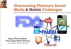 Pharma Marketing Blog: Bayer Pharma Meets Pharmaguy Meets Healthcare App Startups: A Call for Best Practices