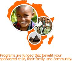Programs are funded that benefit your sponsored child, their family, and community.