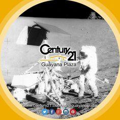 El 20 de julio de 1969 el hombre pisó La Luna por primera vez. Donde llegue el ser humano y tenga un hogar seguro estará #Century21.  Teléfono 0286-7177679  #moon #nasa #historia #history #BienesRaíces #inmobiliario #compra #venta #alquiler #oficina #local #casa #apartamento #terreno #realestate #realtor #Venezuela #Guayana #pzo #pzocity #C21