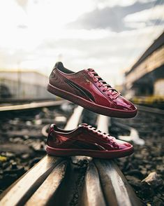 """designer fashion f938e 83395 PUMA on Instagram  """"The next generation of court classics. The  Clyde  Wraith drops September 30. Tap our profile picture for more."""""""