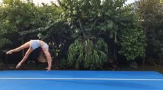 Our air track is a cool tool, you can film some cool videos. - Our air track is a cool tool, you can film some cool videos. ohne vertragsbindung Co - Gymnastics Stretches, Gymnastics Tricks, Gymnastics Skills, Gymnastics Workout, Gymnastics Pictures, Flexibility Dance, Gymnastics Flexibility, Acrobatic Gymnastics, Rhythmic Gymnastics Leotards