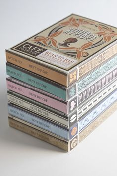 DV CHOCOLATE by Jane Says, via Behance // great blog and great designs!