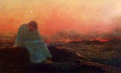 The temptation of Christ in the Desert