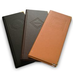 Our Bonded Leather Menu Covers can be designed to look great in any venue. With a huge range of colours and finishes available, these covers make a great first impression.