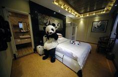 A Panda-Themed Hotel #IncredibleThings