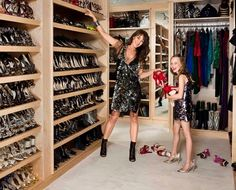 Need a big closet for all my shoes!