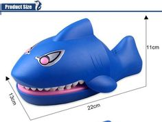 Funny 22CM Gags Practical Jokes toy shark dentist parent-child funny game Family interactive toy Gift For boy girl Kids children