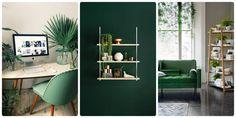 die besten 25 dunkelgr ne w nde ideen auf pinterest dunkelgr ne zimmer gr ne w nde und. Black Bedroom Furniture Sets. Home Design Ideas