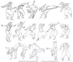 Capoeira studies from https://www.bodiesinmotion.photo/