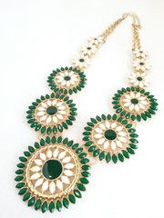 Sierra - Green- The Pink Studs Online Jewelry Boutique
