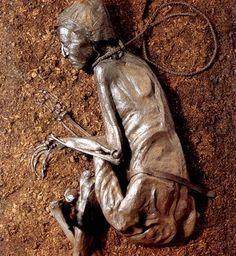 Tollund man, 400-300 B.C., found in Aarhus, Denmark in 1950
