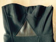 Robe bustier Maje peplum - vinted.fr