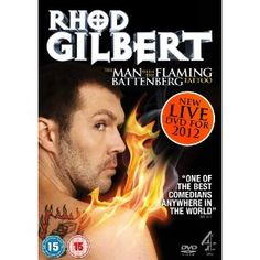 Rhod Gilbert Live 3: The Man With The Flaming Battenberg Tattoo DVD: Amazon.co.uk: Rhod Gilbert: Film & TV