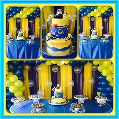 minions bday party
